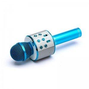 قیمت میکروفون اسپیکر دار آبی مدل 858