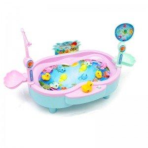 بازی ماهیگیری کودک صورتی مدل 383