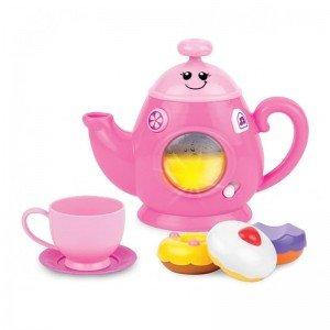 ست چای خوری موزیکال صورتی winfun  مدل 007540
