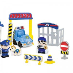 ست ایستگاه پلیس winfun مدل 001306
