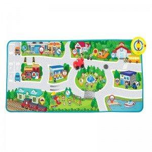 تشک بازی و پارک بازی موزیکال کودک طرح شهر Winfun مدل 001288