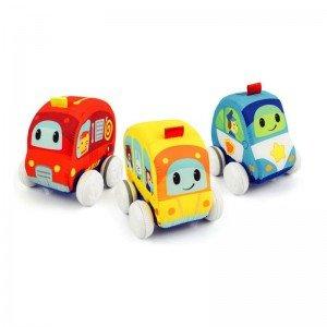 اسباب بازی ماشین آتش نشانی پارچه ای 003185 winfun مدل 00187
