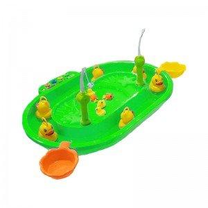 ست ماهیگیری کودک سبز مدل 680165