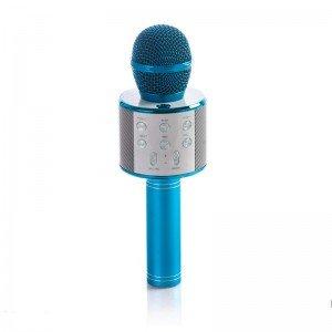 میکروفون اسپیکر دار آبی مدل 858