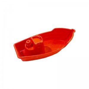 قایق قرمز اسباب بازی کودک مدل 6006