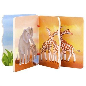 کتاب چوبی حیوانات classic World مدل 3573