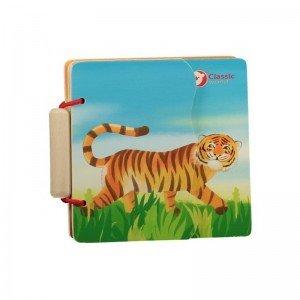 کتاب چوبی حیوانات classic World مدل 3574