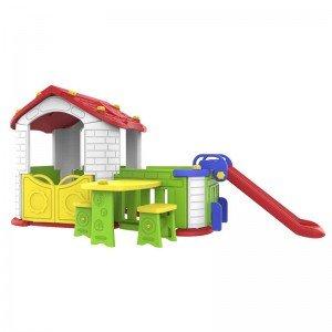 کلبه بازی با سرسره کودک مدل  CHD806