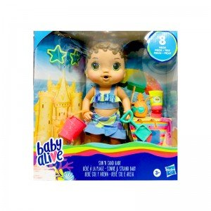 عروسک ساحلی با لوازم Baby Alive مدل 649488
