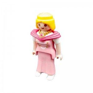آدمک پرنسس با لباس صورتی  playmobil مدل 10034