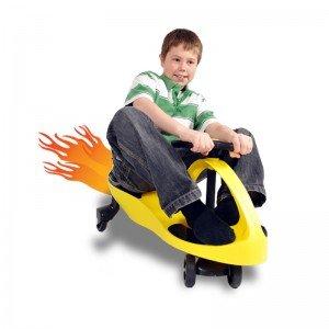 خرید سه چرخه پلاسماکار چرخ ژله ای زرد مشکی مدل 8097