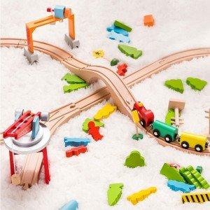 اسباب بازی ریل قطار