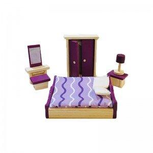 ست چوبی سرویس خواب مدل 20745