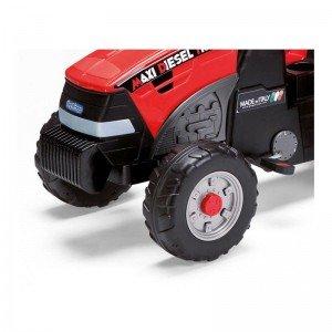 قیمت تراکتور پدالی قرمز با تریلر peg perego مدل 0551