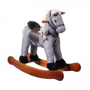 راکر کودک چوبی طرح  ویکتور با عروسک مدل 6016