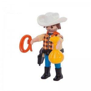 آدمک کابوی با لباس چهارخانه Playmobil مدل 10037