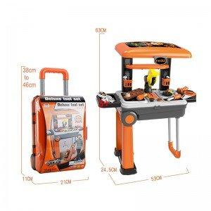 ویژگی های ترولی و میز نجاری چمدانی مدل 008922