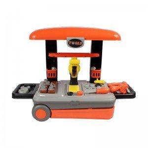 قیمت ترولی و میز نجاری چمدانی مدل 008922