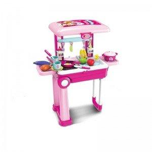 ترولی و میز آشپزخانه چمدانی مدل 008921