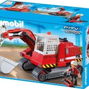 ماشین حفاری جاده پلی موبيل مدل construction excavator 5282