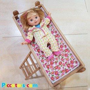 خرید تخت خواب دو طبقه چوبی مدل 0530