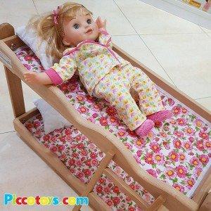 قیمت تخت خواب دو طبقه چوبی مدل 0530