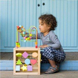 خصوصیات مکعب بازی چوبی hape مدل 1812