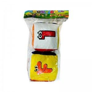 مکعب های فانتزی 2 عددی کودک مدل 6243