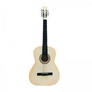 گیتار چوبی بزرگ کودک رنگ کرم مدل 2245