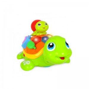 قیمت لاک پشت موزیکال Huile Toys مدل 868