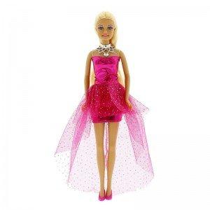 عروسک دفا با لباس صورتی مدل 8354