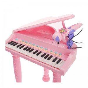 قیمت پیانوی صورتی با صندلی مدل 6615