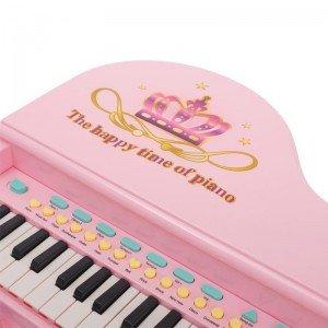 خرید پیانوی صورتی با صندلی مدل 6615