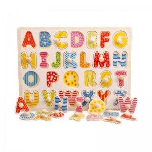پازل چوبی حروف انگلیسی مدل 720