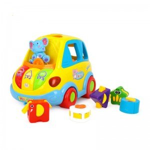 ماشین جایگذاری اشکال موزیکال Huile Toys مدل 896