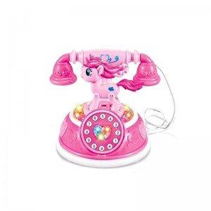 تلفن پونی صورتی پر رنگ مدل 00916A
