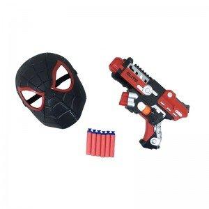 تفنگ و ماسک اسپایدرمن مدل SB472