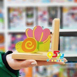 نگهدارنده کتاب کودک چوبی classic World مدل 2598