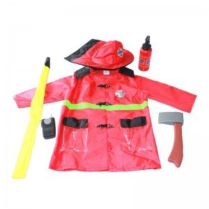 لباس مشاغل کودک آتش نشان با ابزار مدل 4980