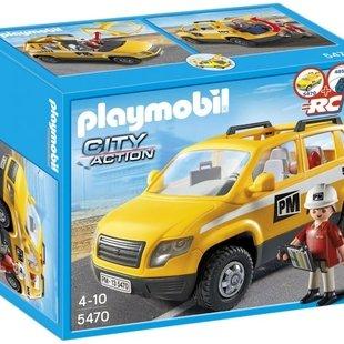 ماشین امداد جاده پلی موبيل مدل site supervisor vehicle 5470