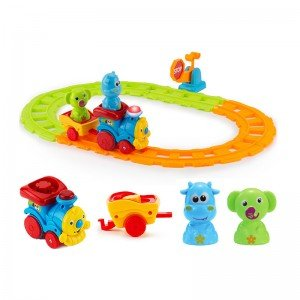 قطار موزیکال حیوانات آبی مدل 65123