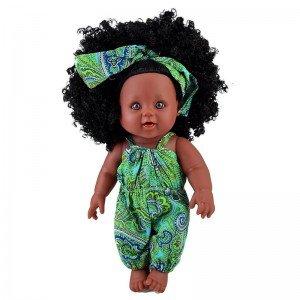 فروش عروسک سیاه پوست با لباس سبز مدل 64114