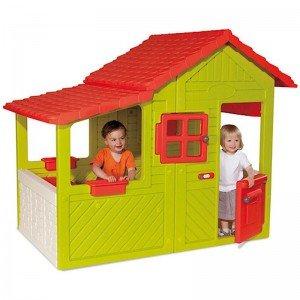 کلبه بازی کودک بالکن دار Smoby مدل 310247