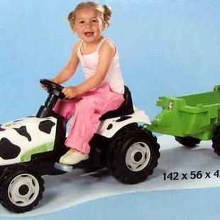 تراکتورپدالی طرح گاوی باتريلر  pic-8101