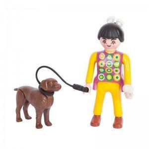 آدمک دخترک و سگ playmobil مدل 10014