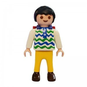 فیگور 7سانتی طرح پسر دانش آموز Playmobil مدل 1009