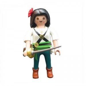 فیگور 7سانتی طرح دختر دزد دریایی Playmobil مدل 10016
