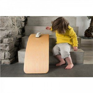 برد تعادلی کودک چوبی بدون لایه فوم curvy مدل 5554