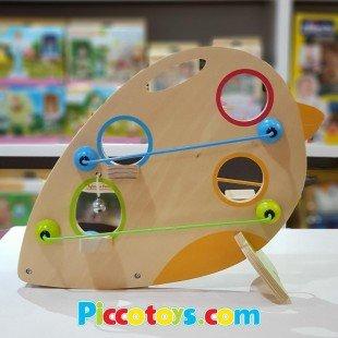 اسباب بازی چوبی نوزاد