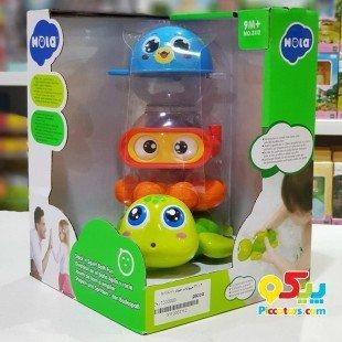 حیوانات حمام Huile Toys مدل 3112